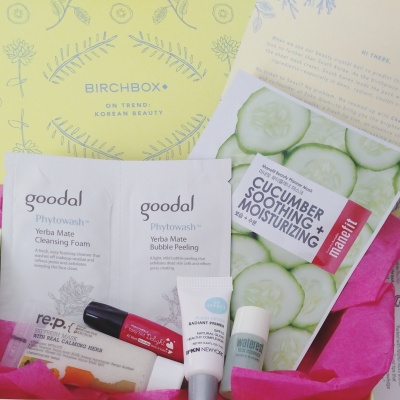Birchbox Korean Beauty Unboxing
