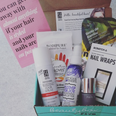 Beauty Box 5 January 2016