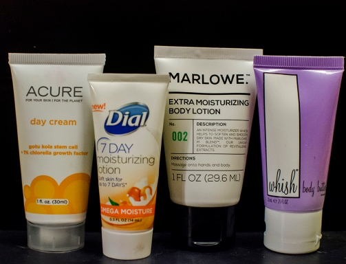 makeup inventory lotions