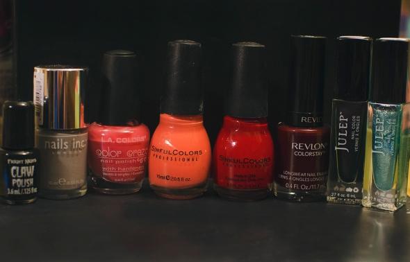 makeup inventory nail polish