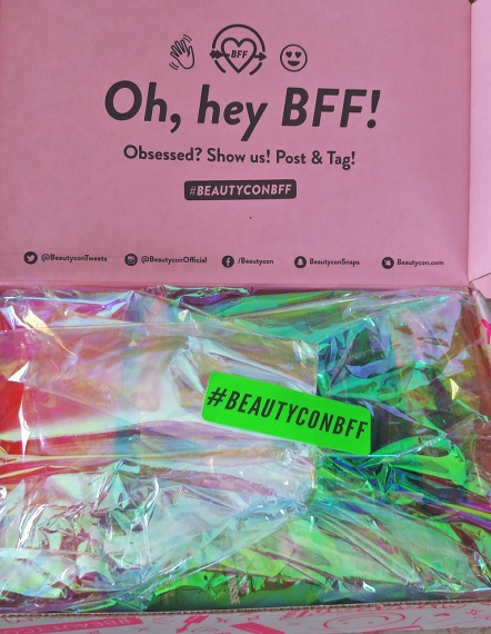 beautyconbff unboxing