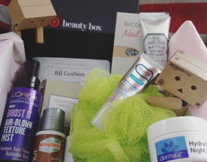 Feb 2016 target beauty box unboxing.jpg