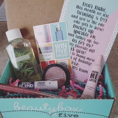 Beauty Box 5 February 2016