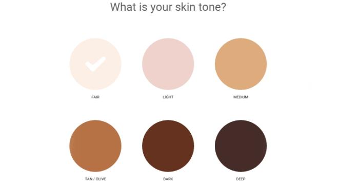 ipsy quiz 01 - skintone