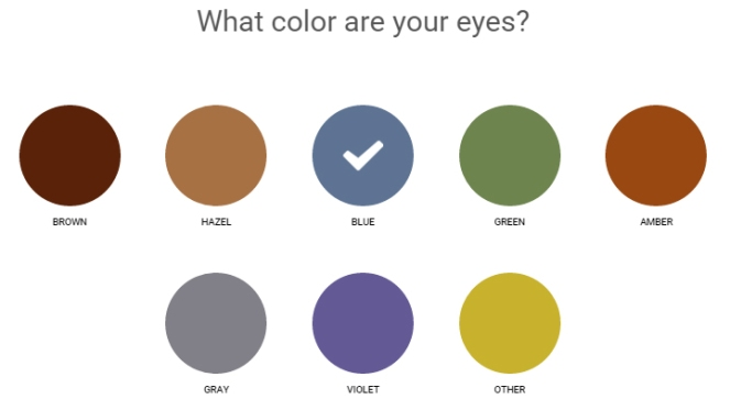 ipsy quiz 02 - eye color