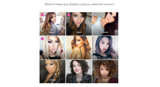 ipsy quiz 05 - stylists