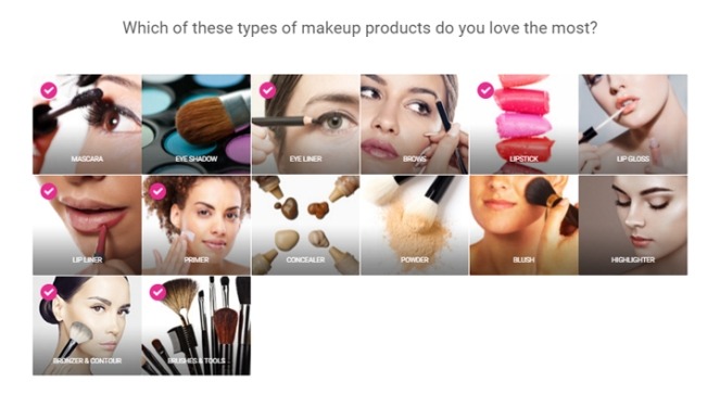 ipsy quiz 09 - makeup types