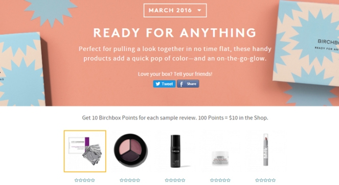birchbox ready for anything