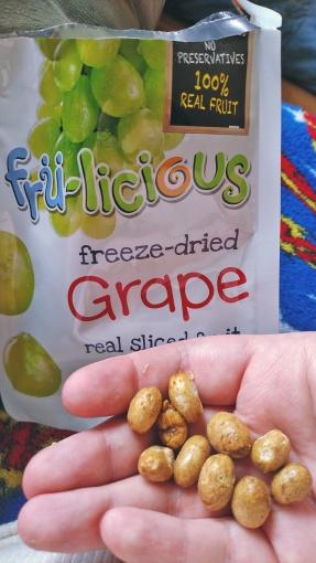 Fru-licious Freeze Dried Grape Real Sliced Fruit