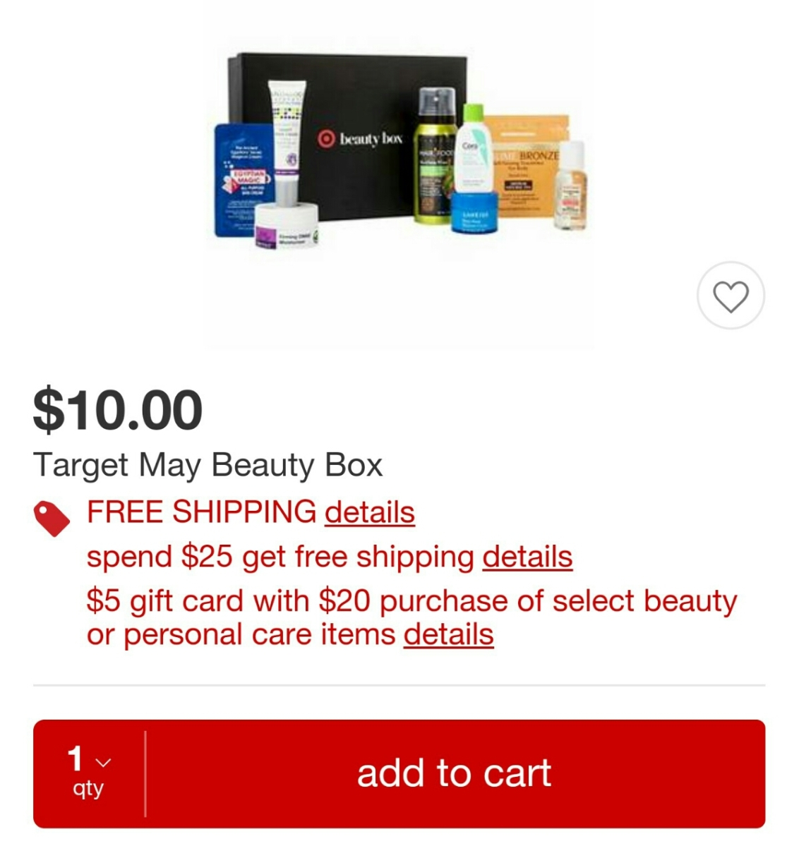 Now Available!! Target Beauty Box {May 2016}