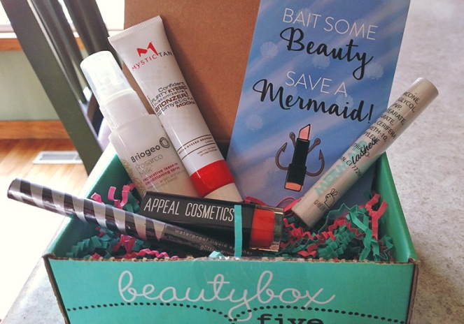 Beauty Box 5 May 2016 Unboxing