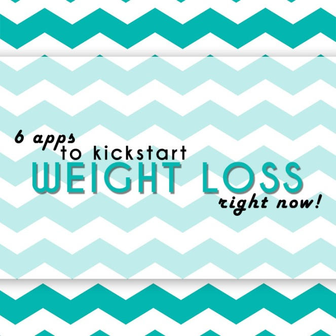 6 apps to kickstart weight loss right now