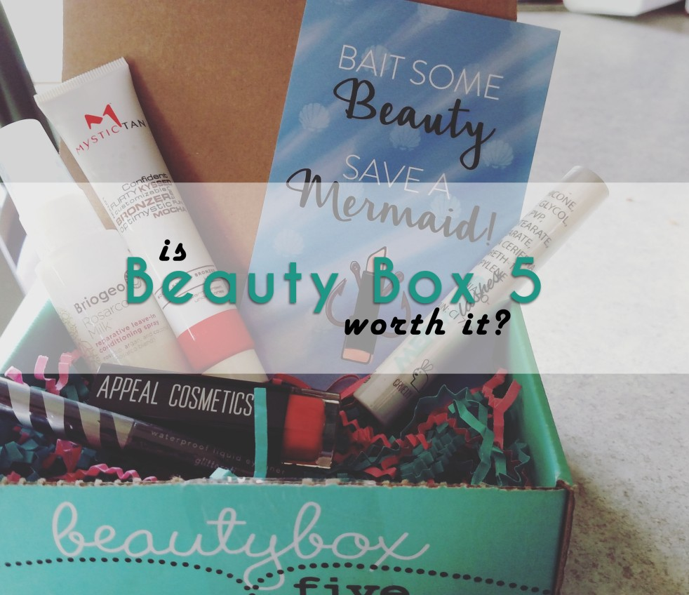 A 6 month Beauty Box 5 evaluation and breakdown answering Is Beauty Box 5 Worth It? by That Geeky Girlfriend