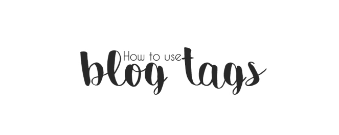 How To Use Blog Tags To Guide & Gain Readers On Your Blog