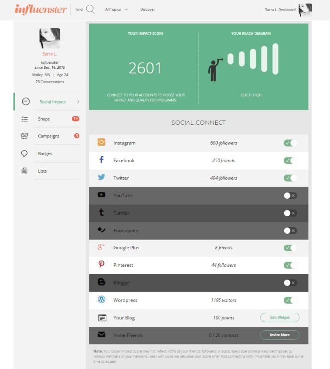 Influenster How To Get A VoxBox Does Social Media Score Matter