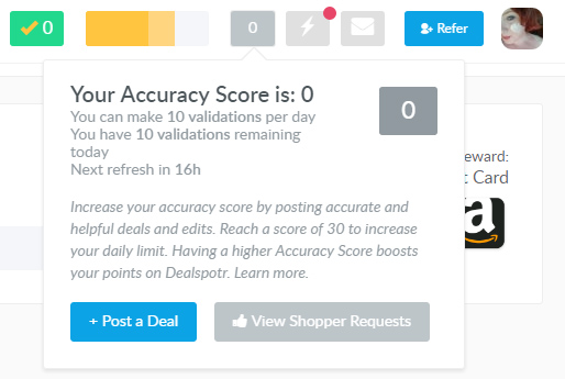 DealSpotr is THE most accurate deal & coupon site on the web.